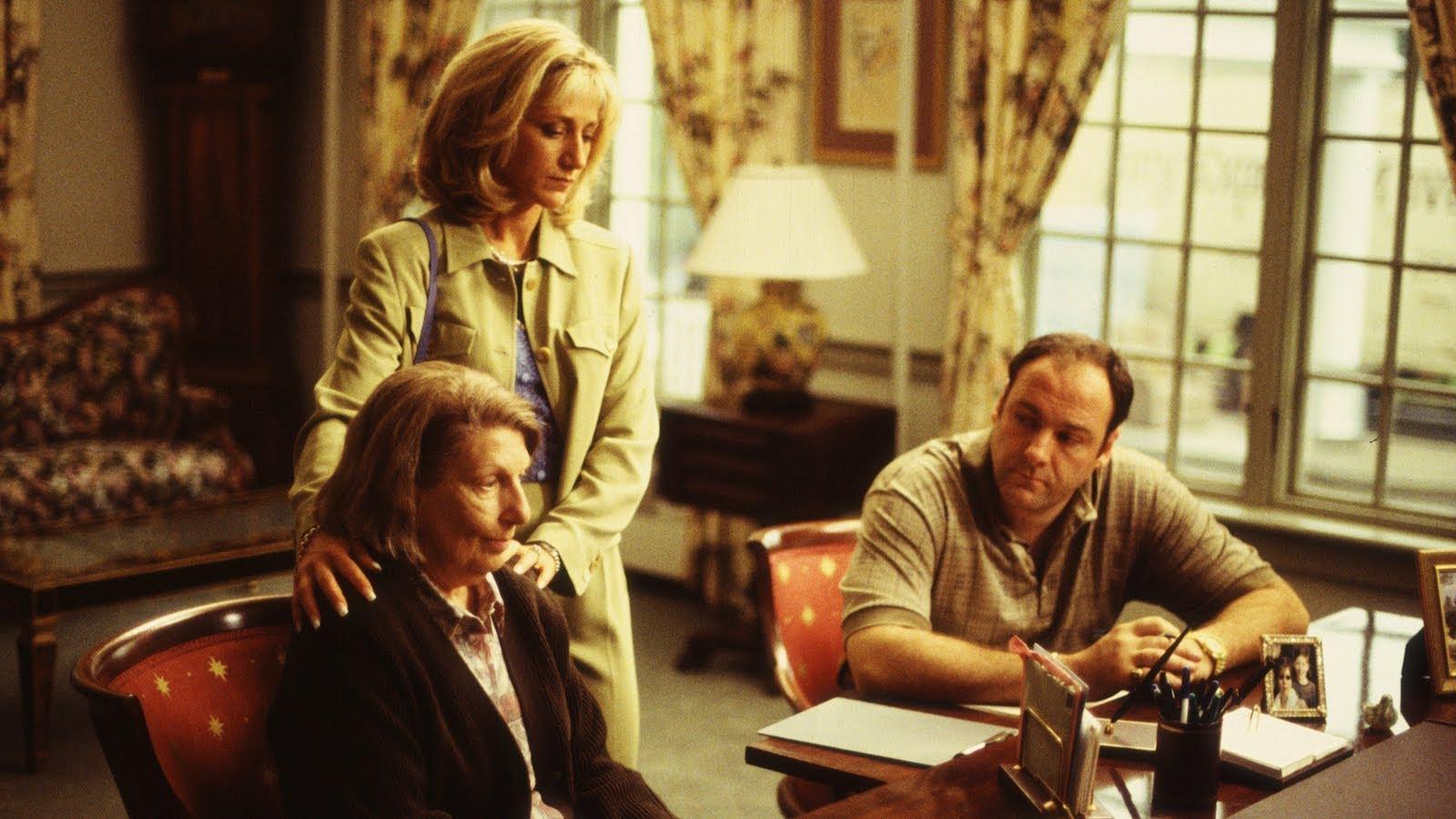 Livia at Green Grove Sopranos second episode