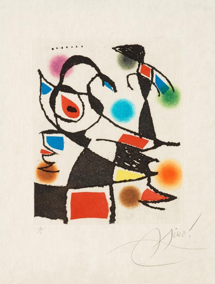 Joan Miro Le Marteau sans Maitre
