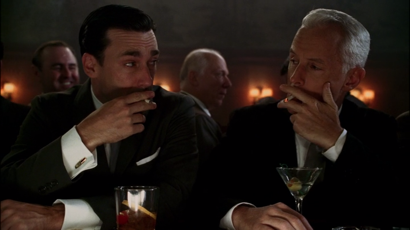 Mad Men Red in the Face