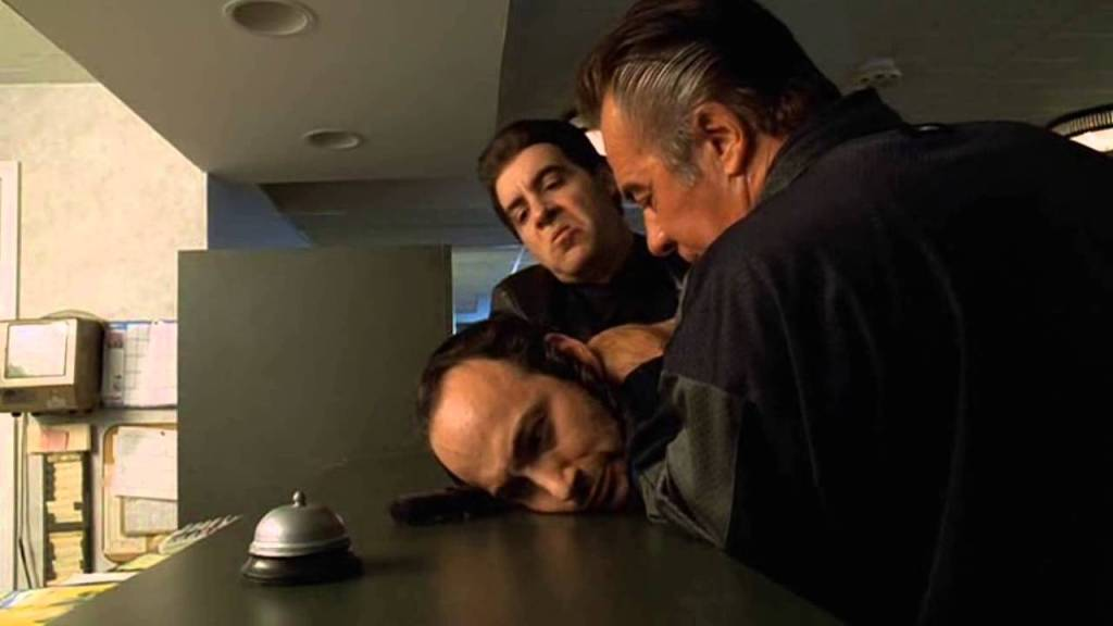 The Sopranos S1E3 Silvio and Paulie