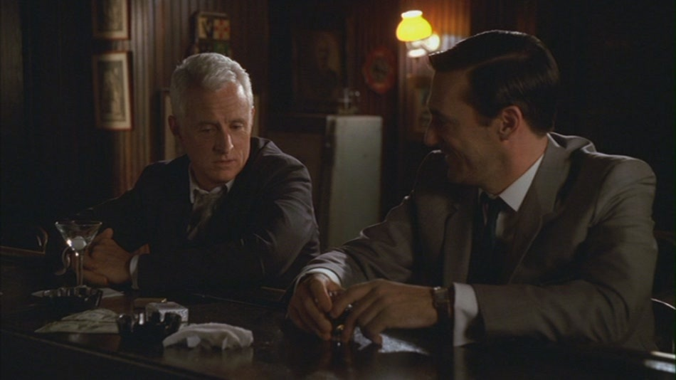Mad Men S2E9 - Don and Roger